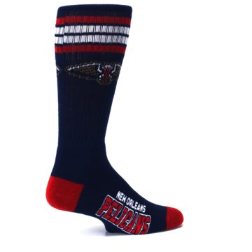 Image of New Orleans Pelicans Men's Athletic Crew Socks (side-1-23)
