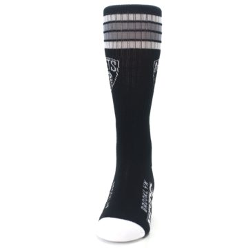 Image of Brooklyn Net Men's Athletic Crew Socks (front-05)