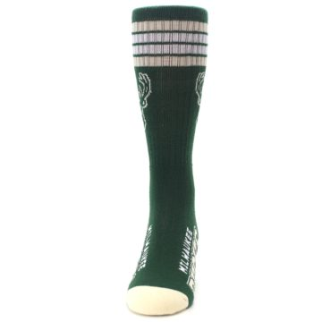 Image of Milwaukee Bucks Men's Athletic Crew Socks (front-05)