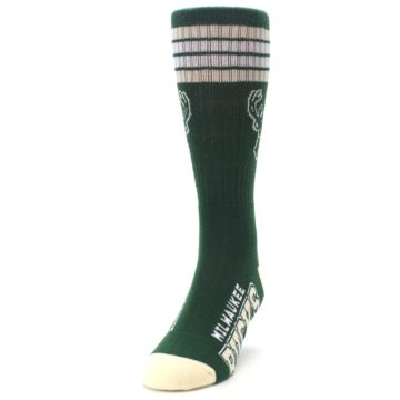 Image of Milwaukee Bucks Men's Athletic Crew Socks (side-2-front-06)