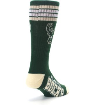 Image of Milwaukee Bucks Men's Athletic Crew Socks (side-1-back-21)