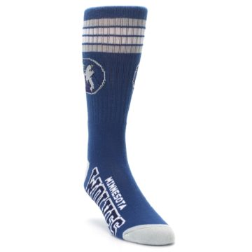 Image of Minnesota Timberwolves Men's Athletic Crew Socks (side-1-front-02)