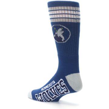 Image of Minnesota Timberwolves Men's Athletic Crew Socks (side-2-back-14)