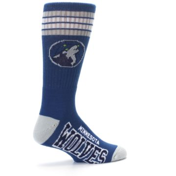 Image of Minnesota Timberwolves Men's Athletic Crew Socks (side-1-23)