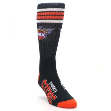 Image of Phoenix Suns Men's Athletic Crew Socks (side-1-front-02)