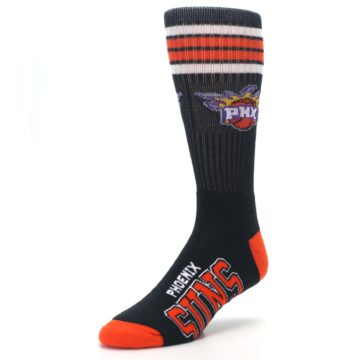 Image of Phoenix Suns Men's Athletic Crew Socks (side-2-front-08)