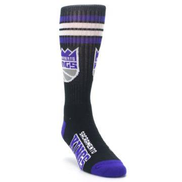 Image of Sacramento Kings Men's Athletic Crew Socks (side-1-front-02)