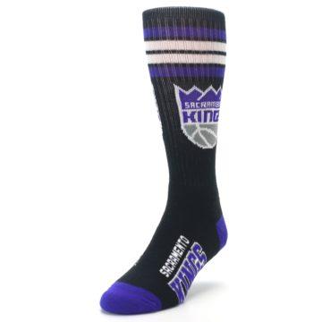 Image of Sacramento Kings Men's Athletic Crew Socks (side-2-front-07)