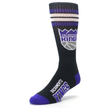 Image of Sacramento Kings Men's Athletic Crew Socks (side-2-front-08)