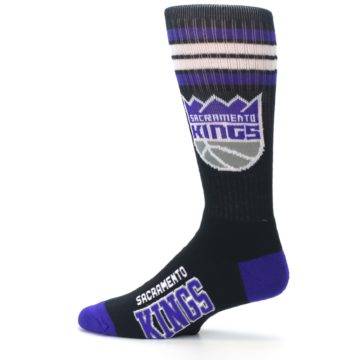 Image of Sacramento Kings Men's Athletic Crew Socks (side-2-12)