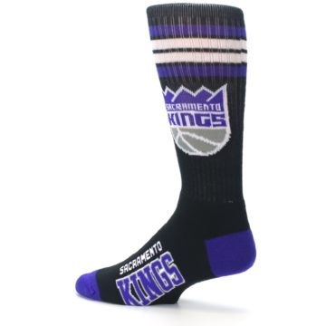 Image of Sacramento Kings Men's Athletic Crew Socks (side-2-13)