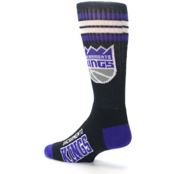 Image of Sacramento Kings Men's Athletic Crew Socks (side-2-back-14)
