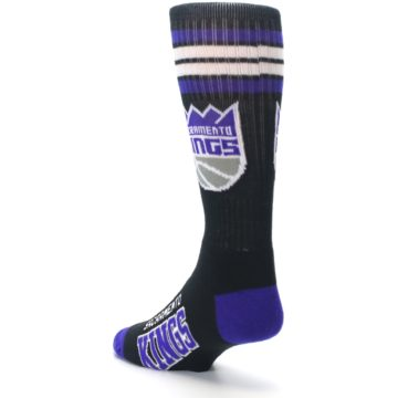 Image of Sacramento Kings Men's Athletic Crew Socks (side-2-back-15)