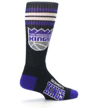Image of Sacramento Kings Men's Athletic Crew Socks (side-1-23)