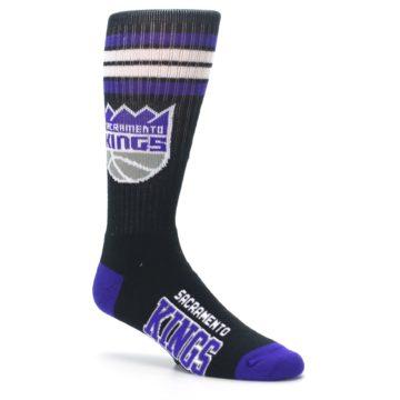 Image of Sacramento Kings Men's Athletic Crew Socks (side-1-26)