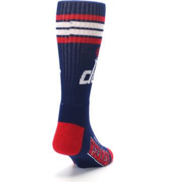 Image of Washington DC Wizards Men's Athletic Crew Socks (side-1-back-20)