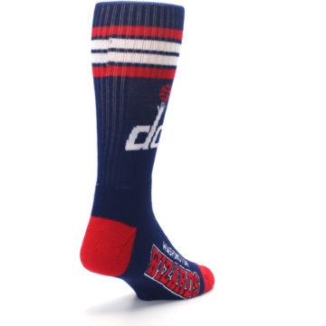 Image of Washington DC Wizards Men's Athletic Crew Socks (side-1-back-21)