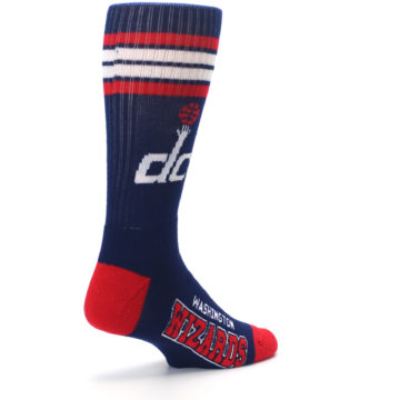 Image of Washington DC Wizards Men's Athletic Crew Socks (side-1-back-22)