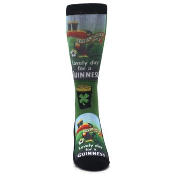 Image of Lovely day for a Guinness Men's Casual Socks (front-04)