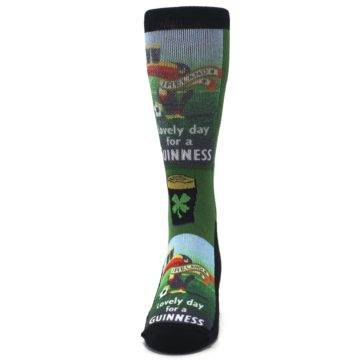 Image of Lovely day for a Guinness Men's Casual Socks (front-05)