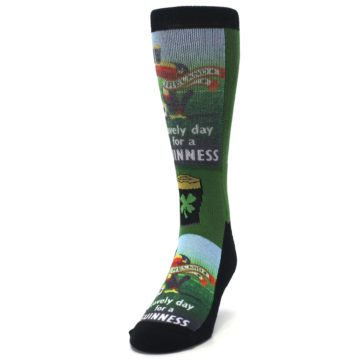 Image of Lovely day for a Guinness Men's Casual Socks (side-2-front-06)