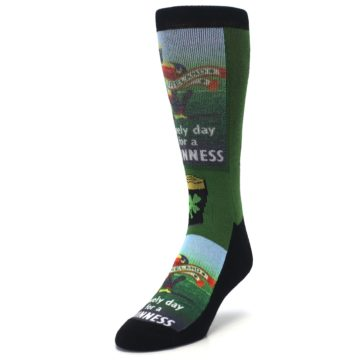 Image of Lovely day for a Guinness Men's Casual Socks (side-2-front-07)