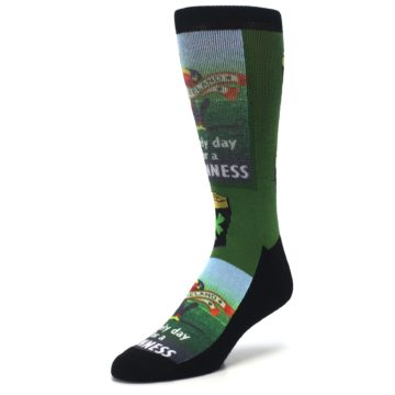 Image of Lovely day for a Guinness Men's Casual Socks (side-2-front-08)