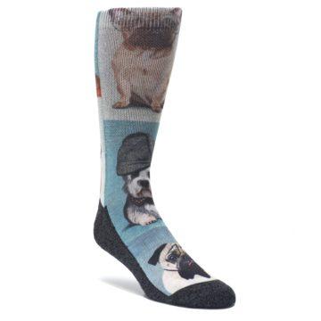 Dashingly-Dapper-Dogs-Mens-Casual-Socks-Good-Luck-Socks