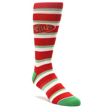 Red-White-Festivus-Seinfeld-Mens-Casual-Socks-STANCE