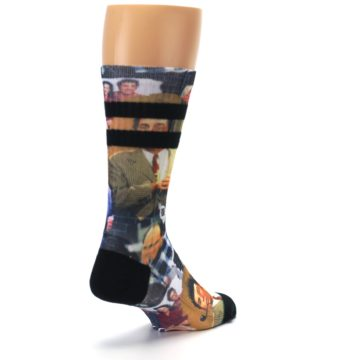 Image of Seinfeld Characters Printed Men's Casual Socks (side-1-back-21)
