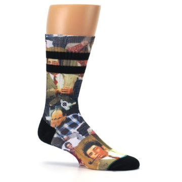 Image of Seinfeld Characters Printed Men's Casual Socks (side-1-25)