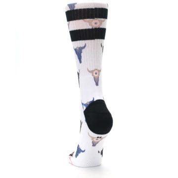 Image of Bull Skull Bullseye Women's Casual Sock (back-17)