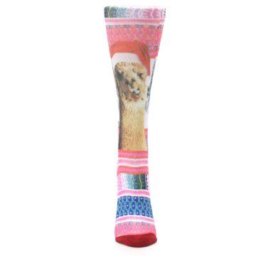 Image of Pink Tinsel Tina Women's Casual Sock (front-05)