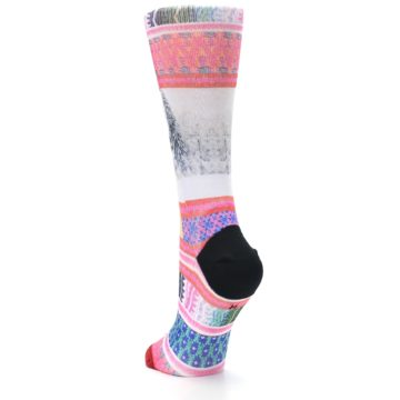 Image of Pink Tinsel Tina Women's Casual Sock (side-2-back-16)