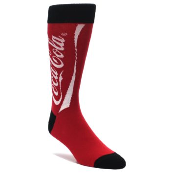 Red-White-Coca-Cola-Coke-Mens-Dress-Socks-Socksmith