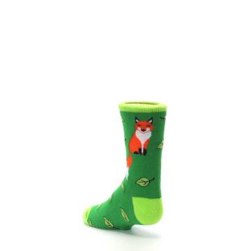 Image of Green Fox on Sox Kid's Dress Socks (side-2-back-15)