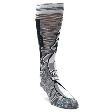Image of Empire Storm Trooper Star Wars Men's Casual Socks (side-1-front-02)
