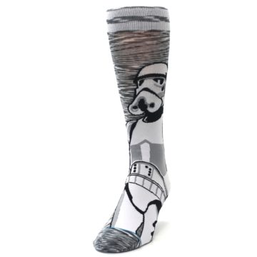 Image of Empire Storm Trooper Star Wars Men's Casual Socks (side-2-front-06)
