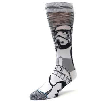 Image of Empire Storm Trooper Star Wars Men's Casual Socks (side-2-front-08)
