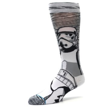 Image of Empire Storm Trooper Star Wars Men's Casual Socks (side-2-09)