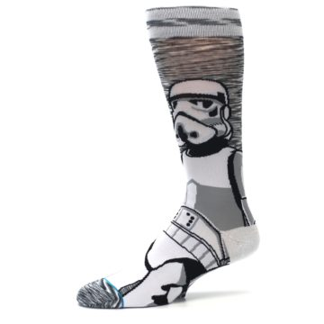 Image of Empire Storm Trooper Star Wars Men's Casual Socks (side-2-10)