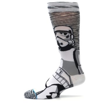 Image of Empire Storm Trooper Star Wars Men's Casual Socks (side-2-11)