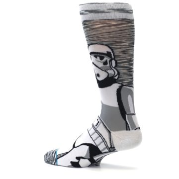 Image of Empire Storm Trooper Star Wars Men's Casual Socks (side-2-13)