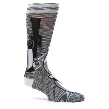Image of Empire Storm Trooper Star Wars Men's Casual Socks (side-1-25)