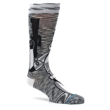 Image of Empire Storm Trooper Star Wars Men's Casual Socks (side-1-26)