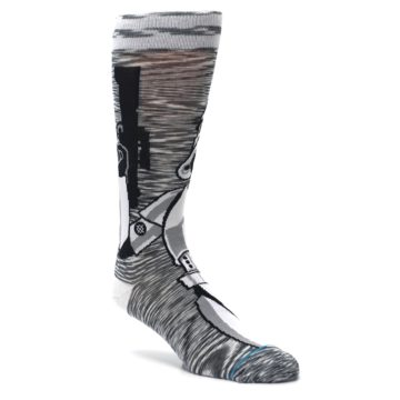 Image of Empire Storm Trooper Star Wars Men's Casual Socks (side-1-27)