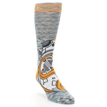 Orange-White-BB-8-Star-Wars-Mens-Casual-Socks-STANCE