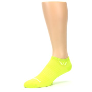 Image of Neon Solid Zero Men's No-Show Athletic Socks (side-2-09)