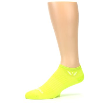 Image of Neon Solid Zero Men's No-Show Athletic Socks (side-2-10)