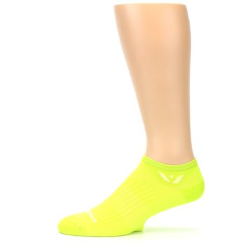 Image of Neon Solid Zero Men's No-Show Athletic Socks (side-2-11)